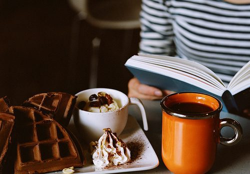 book-breakfast-coffee-cream-delicious-icecream-Favim.com-72394